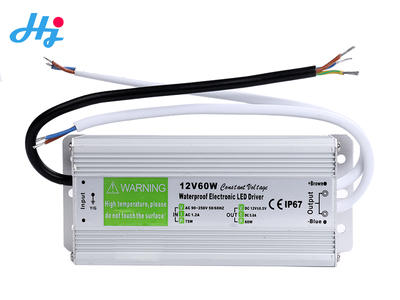 Waterproof IP67 Transformer 12v24V 60w led power supply