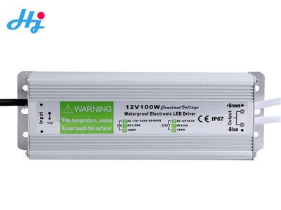 Waterproof IP68 12v24v 100w switching power supply transformer